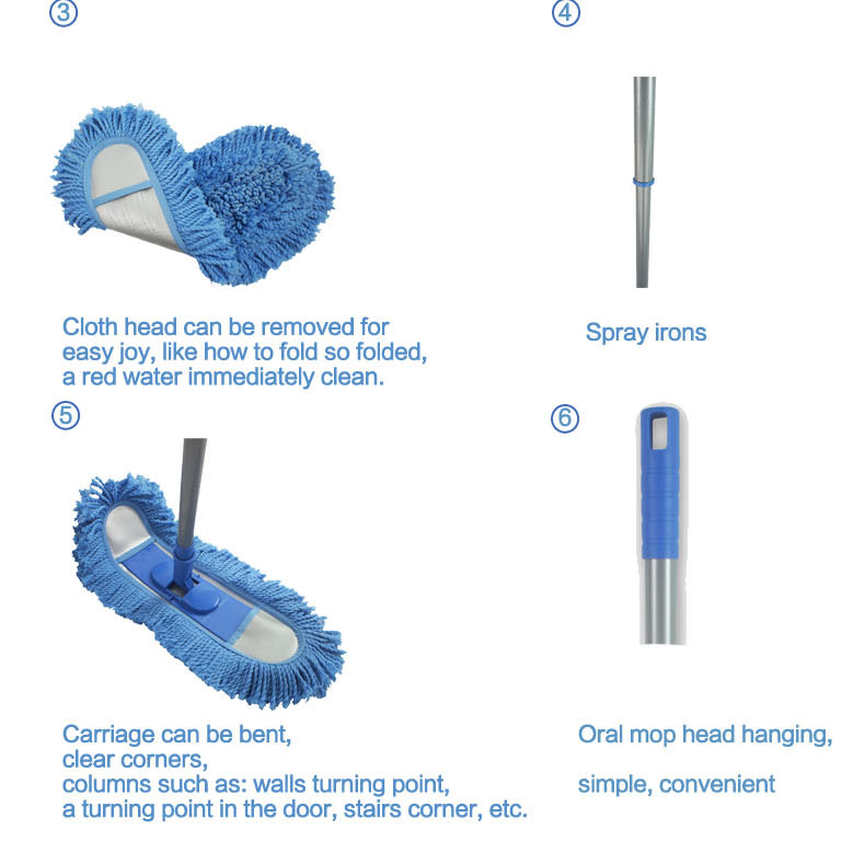 Guaranteed quality magic floor cleaning mop