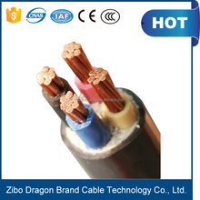4 X 35mm2 copper cable cable size and current rating