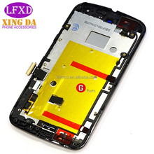 mobile phone accessories 5inch LCD and touch screen digitizer assembly for Motorola MOTO G2