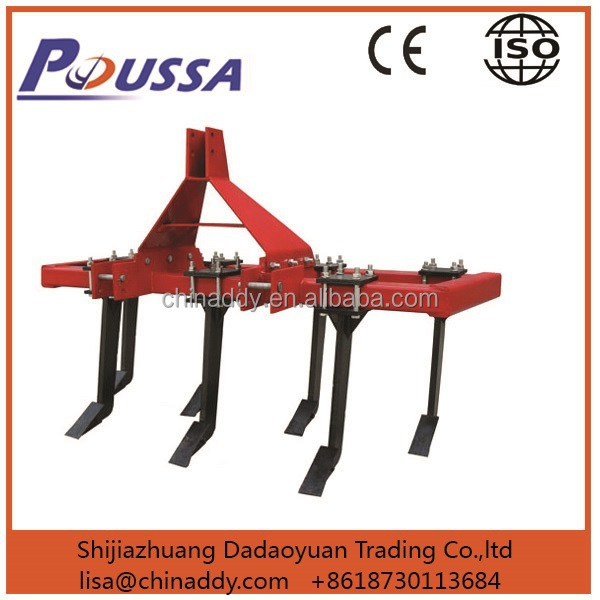 Three point mounted chisel plow / mulcher