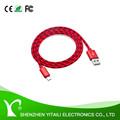 Premium quality USB3.0A male to USB type-c metal shell nylon cable