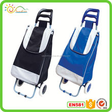Foldable luggage cart custom trunk travel bag