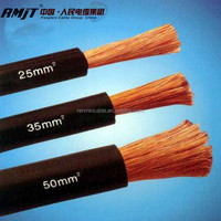 70mm welding cable flexible copper conductor rubber insulation electrical cable