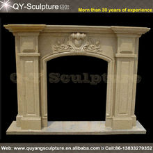 Sandstone Cheap Fireplace Mantel