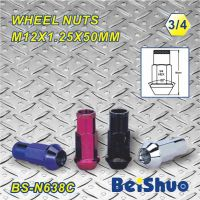 factory supply top quality color wheel nut hex wheel nut,nut bolt.