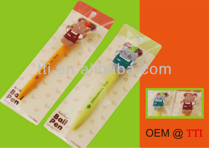 Plastic Pen SA8000 Sedex factory audit cat dog animal click logo pet souvenir slogan pen giveaways promotional advertising gift