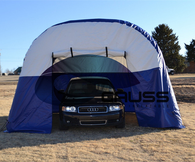 best selling giant outdoor inflatable air-sealed car garage tent for promotion