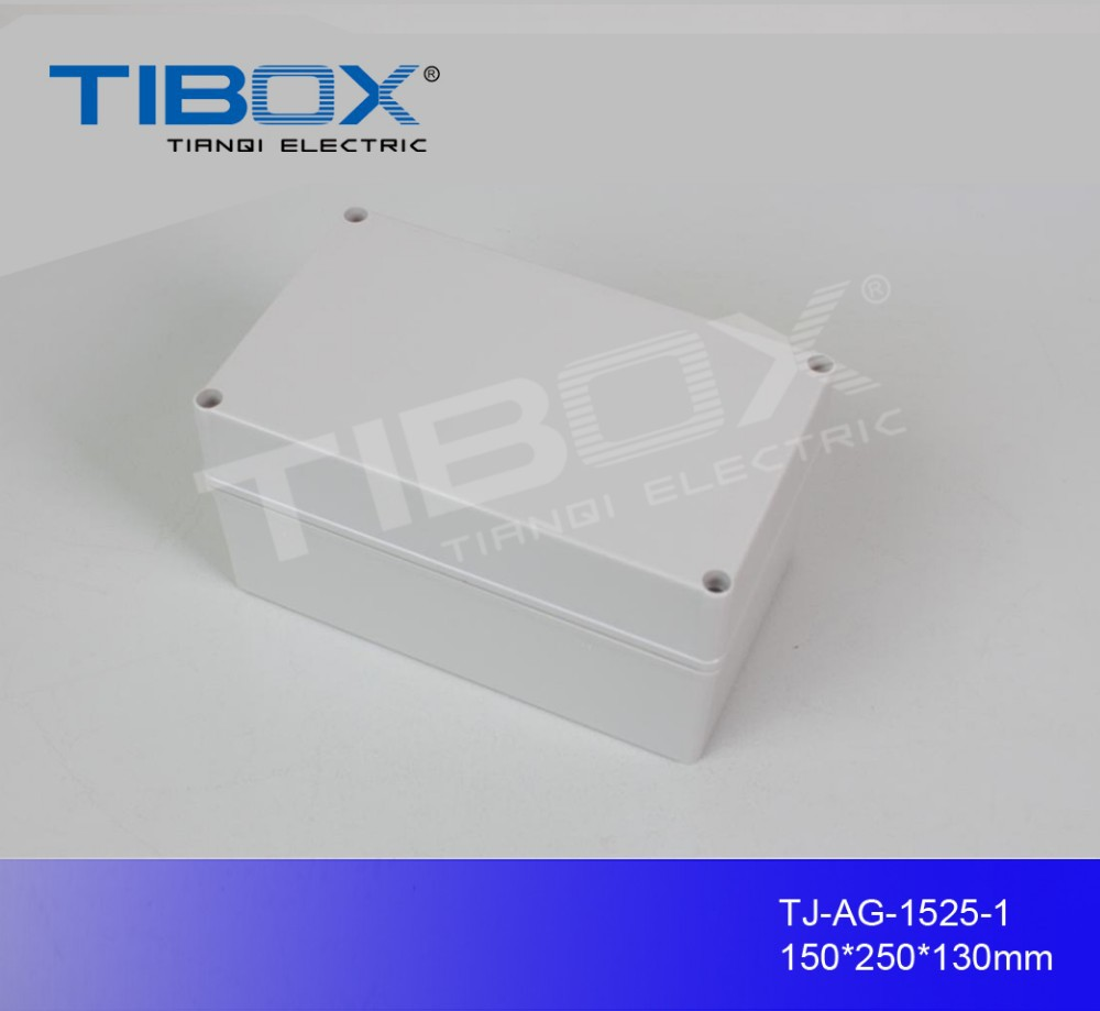 plastic outdoor electrical junction enclosure /abs waterproof box