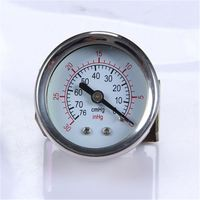 Industrial Durable Light Weight Easy To Read Clear Air Compressor Pressure Gauge