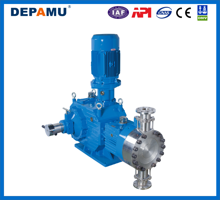 DPMWA Series Hydraulic Diaphragm Metering pump
