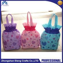 Hot sale promotion custom printed non woven drawstring shoe bag