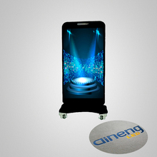 Mobile advertising p3 led screen indoor iphone shape led display SMD screens