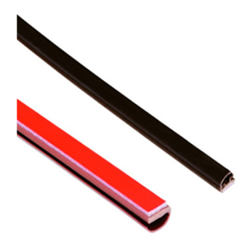 PVC extruded living hinge profiles
