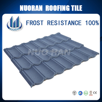 High quality aluminum zinc plate colorful stone coated metal roofing tile China stone coated aluminum zinc steel