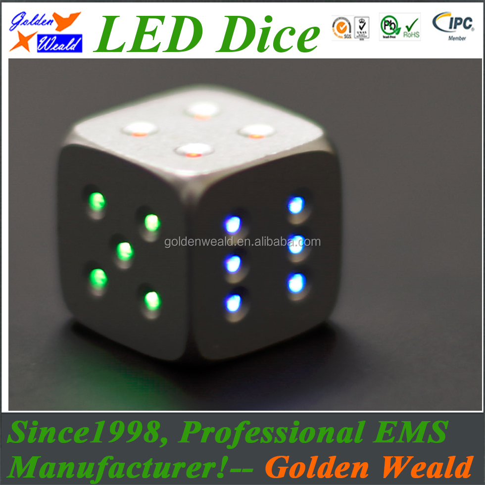 Acrylic Dice Factory Produce Plastic Printed Game Custom Oem Circuit Board Assembly Service Include Smt Dip Cob Wire Dicepromotional Small
