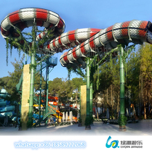 Huge fiberglass water park equipment