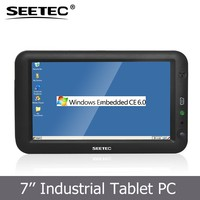 7 inch tablet touch panel resolution 800x480 li-battery optional lan port RJ45 linux all-in-one pc