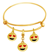 DIY Craft Funny Design Jewelry Emoji Charm Bracelet