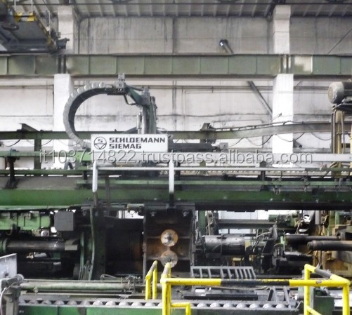 DIRECT/INDIRECT SCHLOEMANN OIL HYDRAULIC EXTRUSION PRESS WITH PIERCER