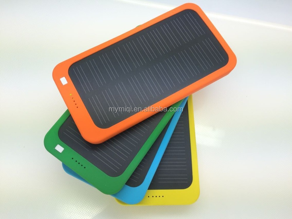 MIQ 2015 waterproof solar power bank and solar charger for phone