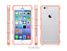 import mobile phone accessory wholesale two layers case back cover for apple iphone 6