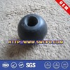 7.5CM diameter black scent rubber silicone hollow ball