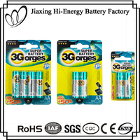 Environment Friendly Aluminum Foil Dry Cell R6P 1.5V AA SUM3 Carbon ZInc Battery