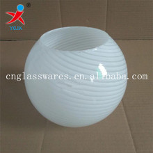 hanging opal white ball glass lamp shades