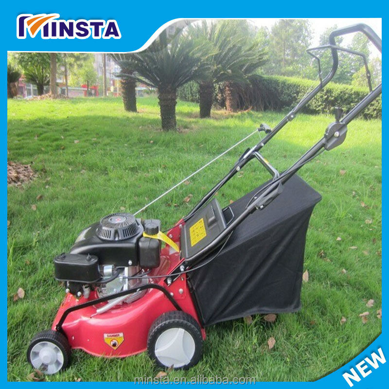 Zero Turn Riding Lawn Mower With grass bag
