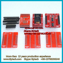 Double Pins Contact 100% Original V3 TSOP32 TSOP40 SOP44 TSOP48 Adapter 6pcs/lot for TL866A/TL866CS Programmer