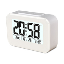 Mini Electronic Digital Clock with Led Calendar Clock/Temperature display for Household