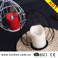 2017 popular LED candles battery operated tea light electric candles flameless candles with remote