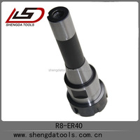 Machinery tools/work holding tools R8-ER40 collet chucks/spindle taper