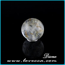 hot sell beautiful dandelion resin ball for the jewelry makeing size 20mm