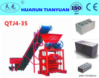 Small brick machine low cost QTJ4-35B2 cement brick maker / hollow block making / semi automatic block machine