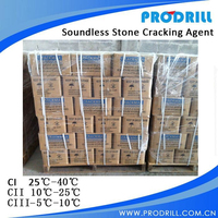 C1 type Quality High Range Soundless Cracking Agent , Non Explosive Demolition Agent