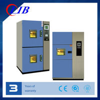 Two Zones Stable Temperature Cycling Environmental Thermal Shock Test Chamber