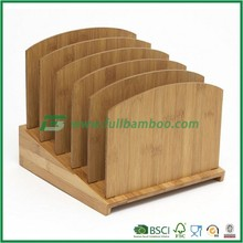 Graduated File Folder Organizer, Bamboo