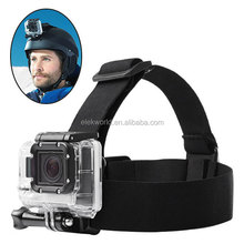 One Anti-skid Rubber Pad Head Strap for Gopros He ro 4/3+/3/2/1, factory supply, no MOQ