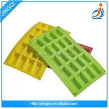 Hot design and useful FDA Quality Fancy Custom ice-cream mold Silicone Ice Cube Tray