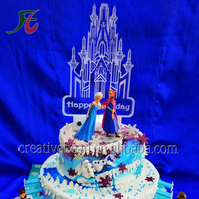 Customize Design for Own Style With Laser cutting Acrylic Cake Topper & Lighted Cake Toppers For Wedding