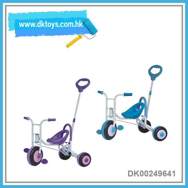Kid's 3 Wheels Bike With Storage Basket Baby Tricycle Kids Toy With EN71 ASTM Certificate