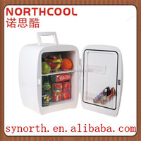 15L Portable With LED Home or Hotel Mini Bar Fridge For Foods and Drinks