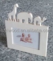 New design DIY craft photo frame/wooden craft for kids