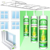 Manufacturer JY920 high performance glass panel sealant caulking silicone sealant