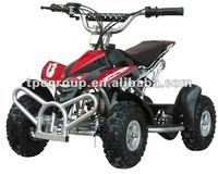49cc, single cylinder, air-cooled, 2-stroke ATV