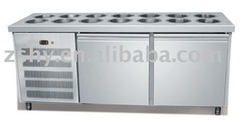 Salad refrigerated cabinet