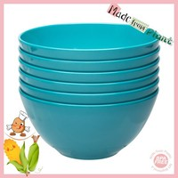 Full-Natural Eco-friendly Non-toxic PLA Safe Bowls Azure Color