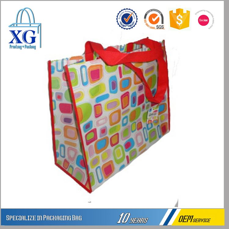 Factory Supply good quality collapsible colorful non woven shopping bag