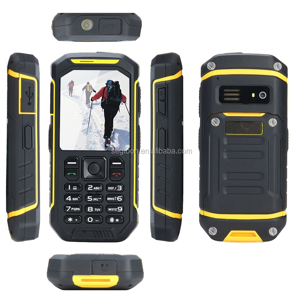 water dust shock proof rugged mobile phone 2.4inch small size mobile phone mini senior phone
